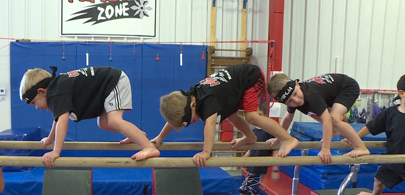 Ninja gymnastics in burlington & hamilton