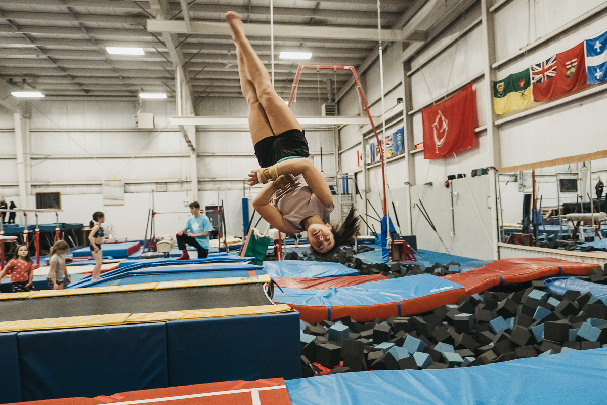 Competitive Trampoline in Burlington & Hamilton