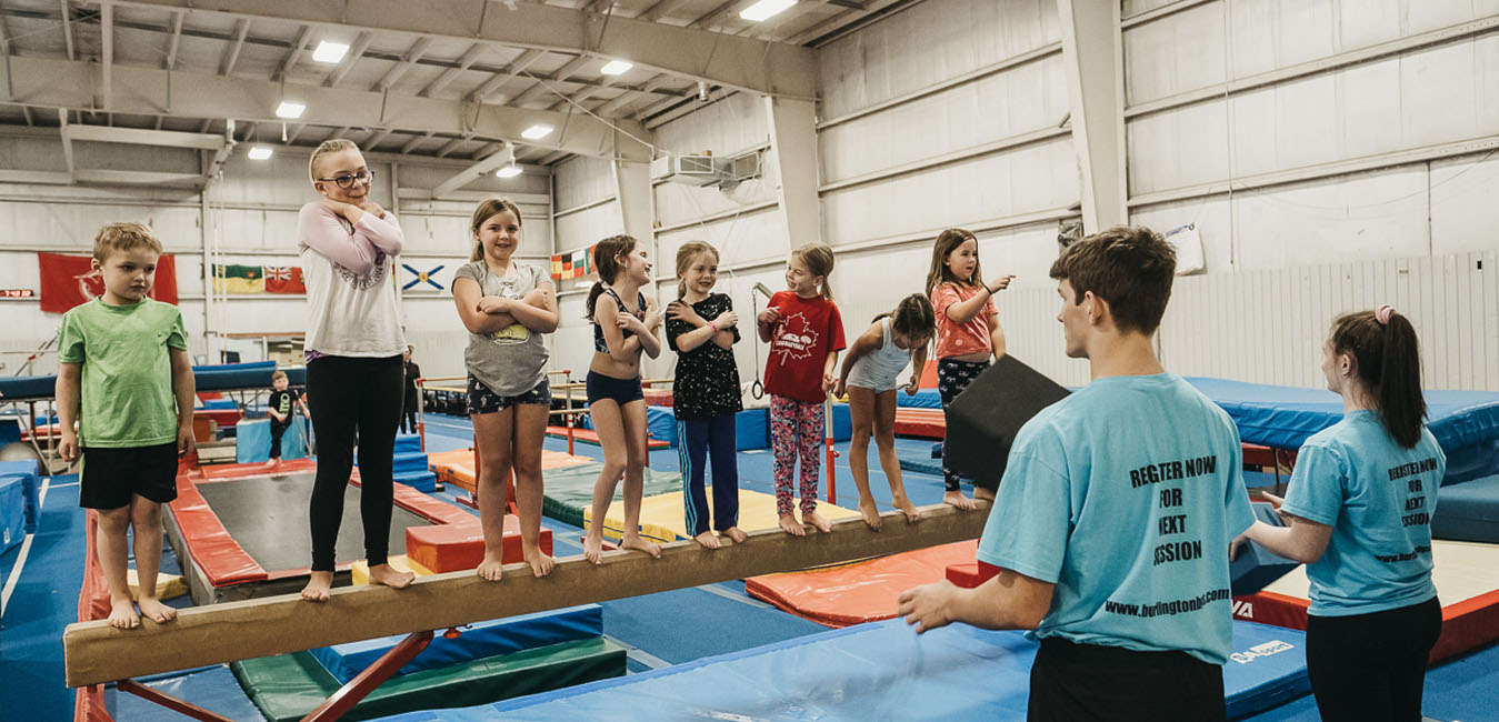 Recreational Gymnastics Program in Burlington