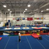 Interclub program for trampoline & tumbling in Burlington