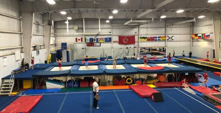 Interclub program for trampoline & tumbling in Burlington